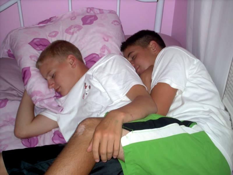 Couple Cute Greek Boys