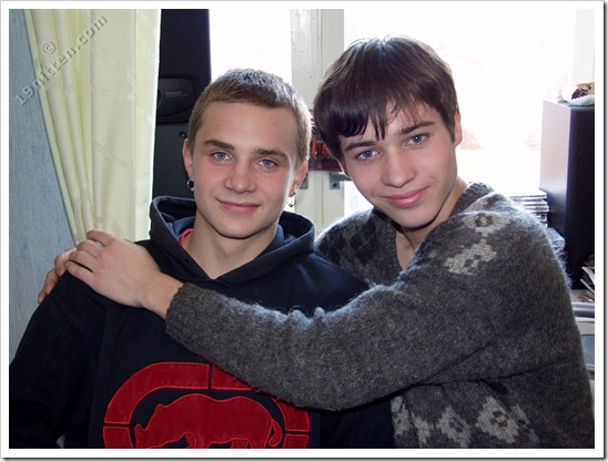 Joey & Jitrik two gay teenboys