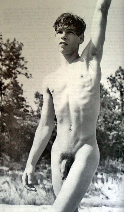 chained gay nude